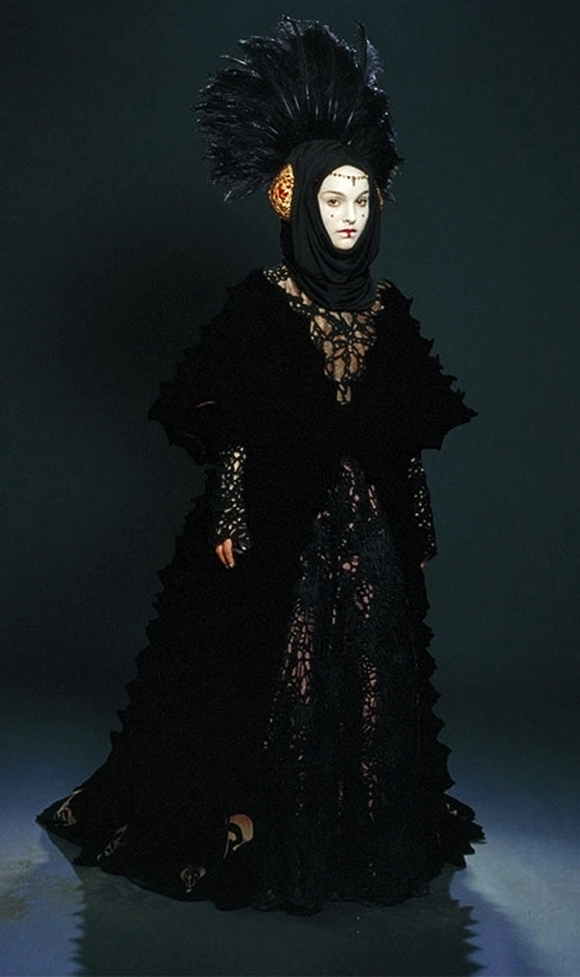 Reference Queen Amidala Traveling Gown