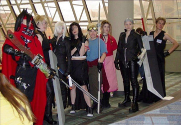 Advent Children Photoshoot Ohayocon 2006