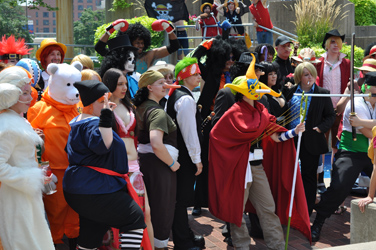Otakon 2010 One Piece Photoshoot